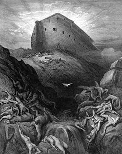 ノアの箱舟とハト