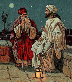 イエスとニコデモ