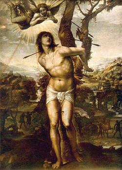 聖セバスティアヌスの殉教
