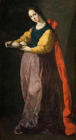 シチリアの聖アガタ
