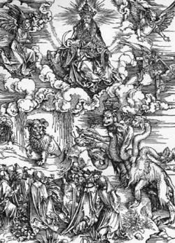海と子羊の角の獣 666