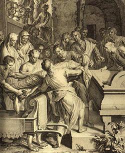 アブラハムの死