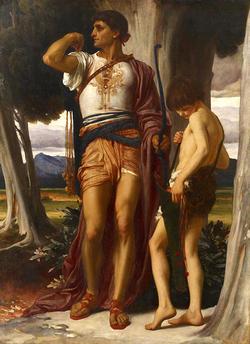 ダビデとサウルの子ヨナタン