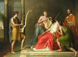 ダビデとサウル王との和解