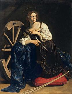 聖カタリナとヒュパティア
