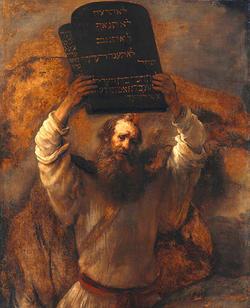 モーセ十戒を砕く