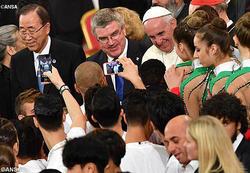 バチカンで信仰とスポーツをめぐる国際会議