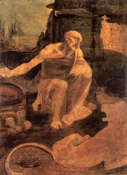聖ヒエロニムスとライオン