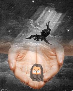 創世記4:エバとヘビの誘惑、ワシ凄い神様!