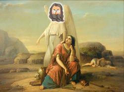 創世記19:アブラハムとサラのハガル追放