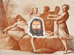 創世記13:ノアの次男ハム、泥酔した親父を犯す?