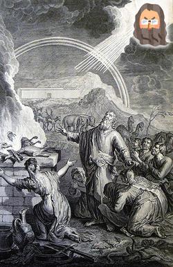 創世記12:大洪水後のノアの燔祭と神の契約