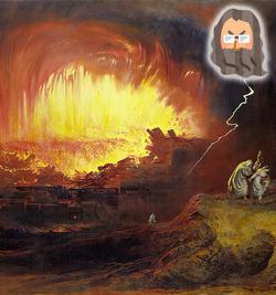 創世記17:ソドムとゴモラ、ロトの妻が塩柱になった秘密
