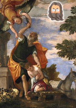 イサク犠牲は、天使から総スカんだった!