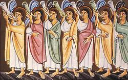 異邦人の庭と二人の預言者〜大七のラッパ