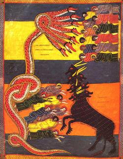 海から上って来る獣と子羊の角の獣 666の刻印