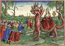 バビロンの大淫婦〜昔はいたが今はいないという獣