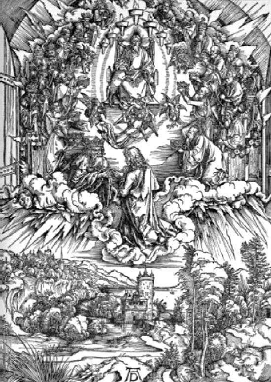 神の玉座を囲む24人の長老