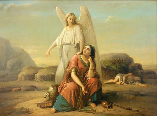 天使とハガル