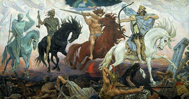 黙示録の4人の騎手