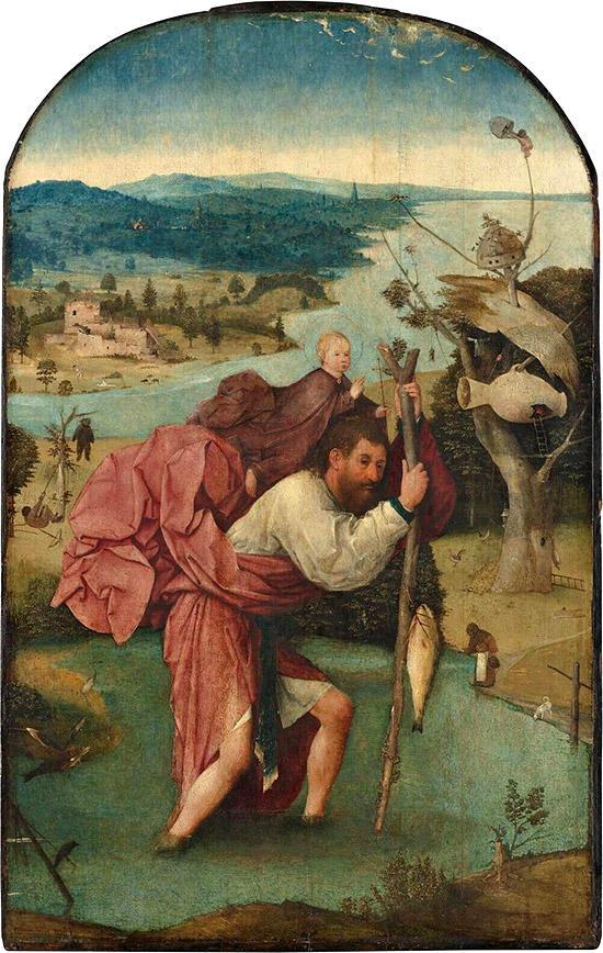 聖クリストフォロス-ボス