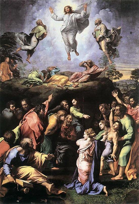 ラファエロ「キリストの変容」