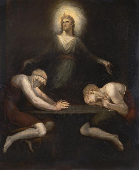 エマオで消えるキリスト