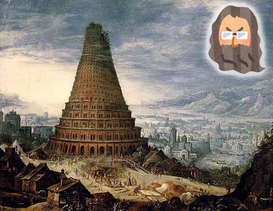oki_今ドキ!聖書   創世記14:バベルの塔を作ったバカども
