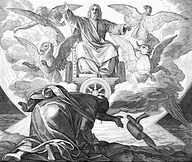 エゼキエル書 四つの生き物
