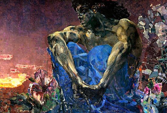 ミハイル・ヴルーベリ:悪霊