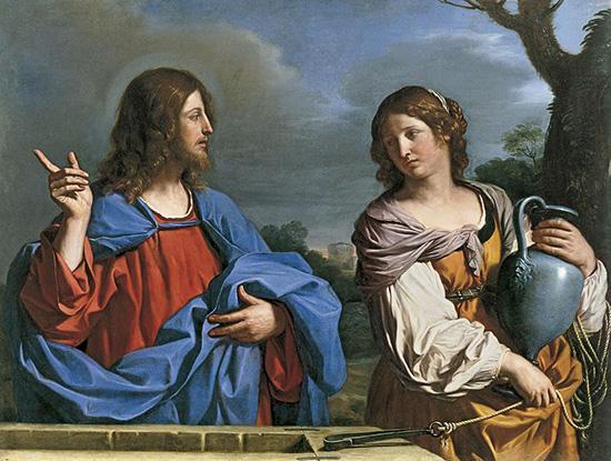 イエスとサマリヤの女