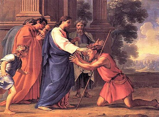 イエス、らい病人を直す