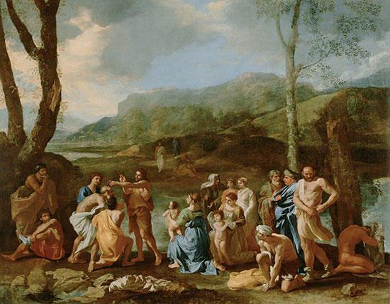 ヨルダン川の洗礼者ヨハネ