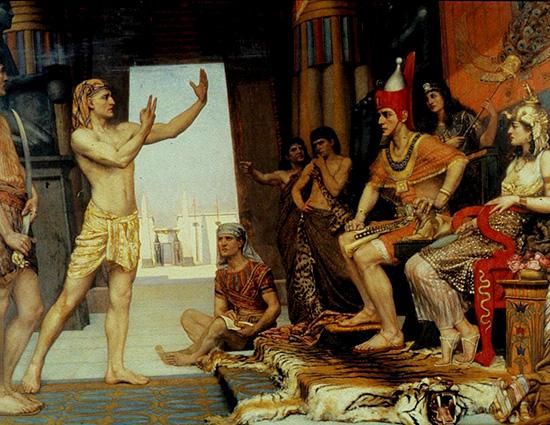 ヨセフ、ファラオの夢占い