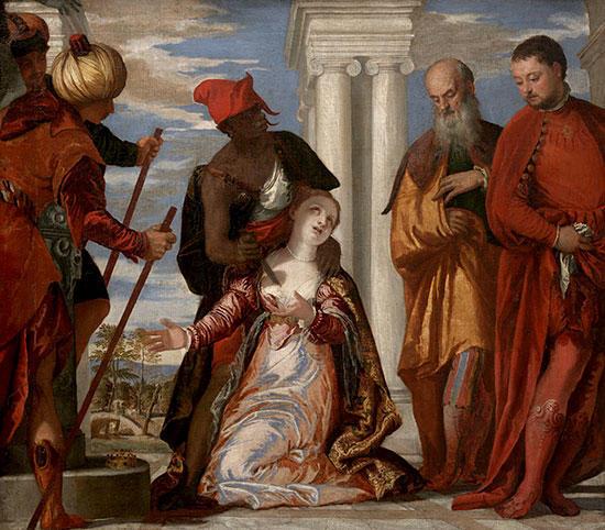 天使聖人 | 聖ユスティナの殉教