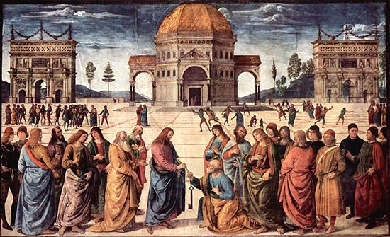 聖ペテロへの天国のかぎの授与