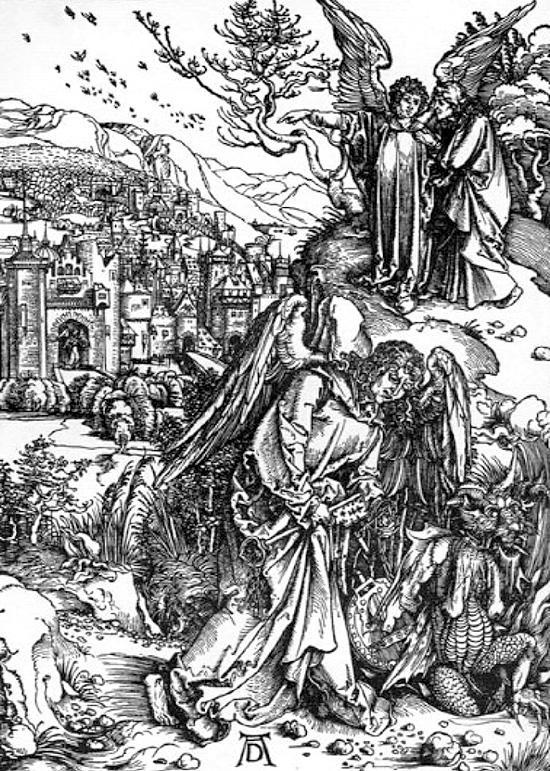永遠の鍵を持つ天使と新しいエルサレム
