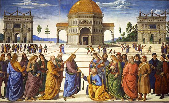 聖ペテロへの天国の鍵の授与