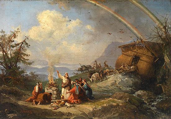ノアによる感謝の祈り