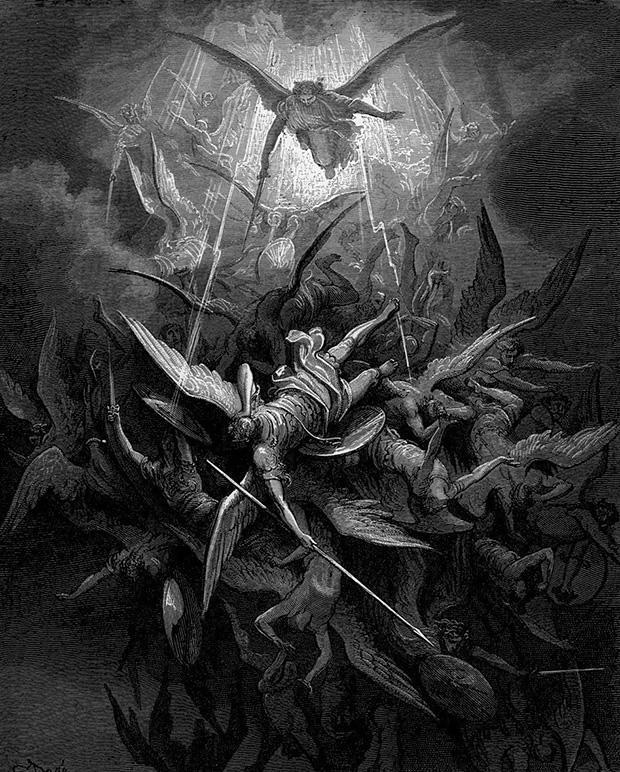 ミカエルの堕天使追放