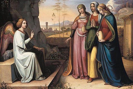 天使とマグダラのマリヤとほかのマリヤ