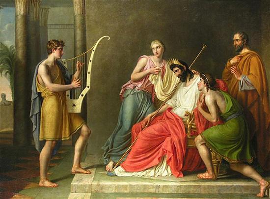 サウル王とダビデ