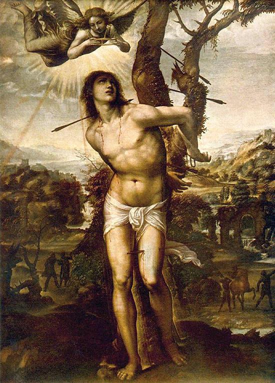 ソドマ『聖セバスティアヌスの殉教』