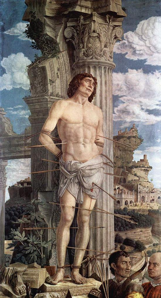 マンテーニャ:聖セバスティアヌスの殉教