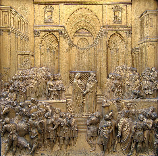 ソロモン王とシバの女王の会見