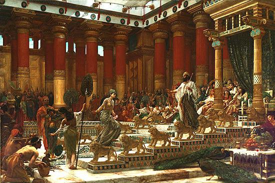 ソロモン王を訪問するシバの女王