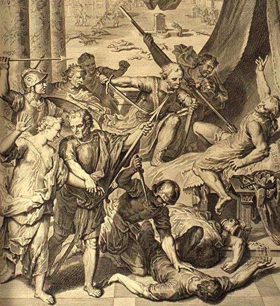 シェケムでのシメオンとレビによる虐殺