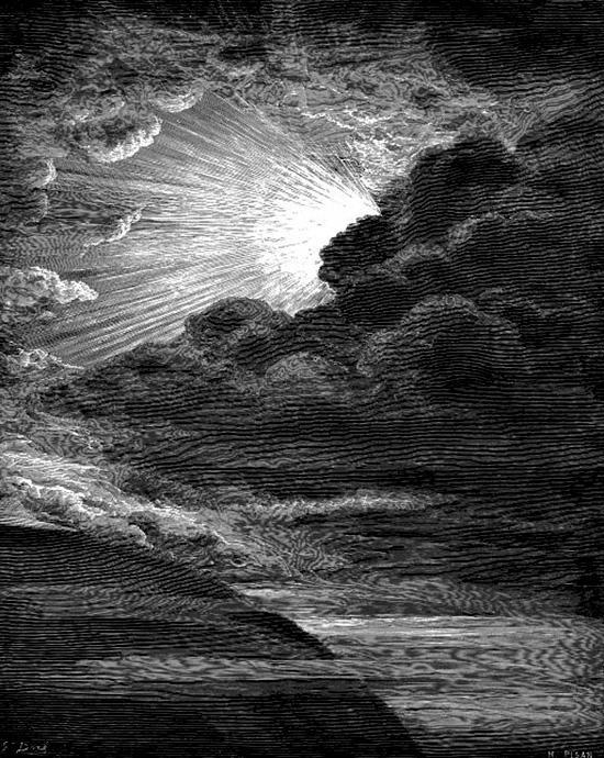神は「光あれ」と言われた。