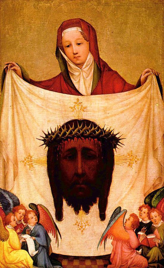 聖顔布を手にする聖ヴェロニカ