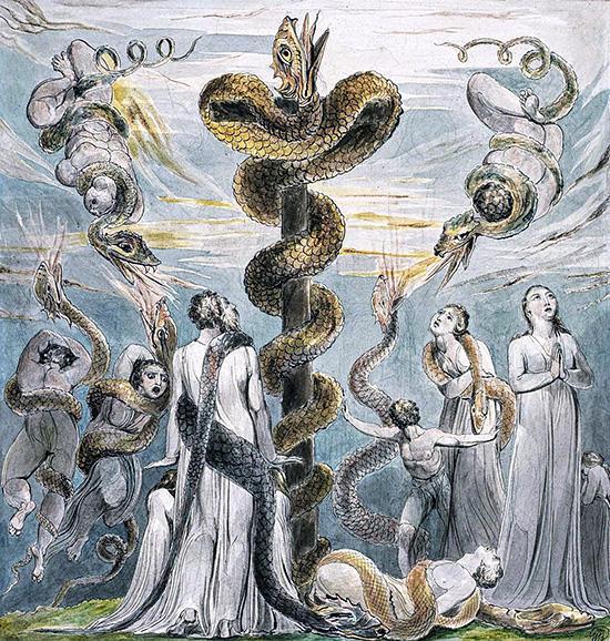 ブレイク:モーセと青銅の蛇